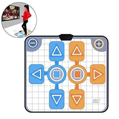 Mavis Laven USB-dansmat, dubbelpersoons antislip danskussen-deken voor Nintendo Wii-console-spel voor volwassenen en kinderen