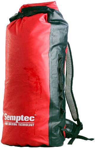 Semptec Urban Survival Technology Packsack: Wasserdichter Trekking-Rucksack aus LKW-Plane, ca. 50 l (Trecking Rucksack)