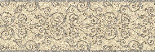 Versace Bordüre - Material: Kompaktvinyl auf Vlies in beige, grau, metallics (Nr. 1504-3851)