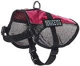Dogline Service Dog Vest, 17 by 21-Inch, Pink