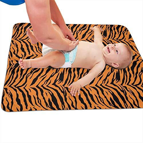 Tijger Halloween kostuum patroon gewatteerde dikker langer waterdicht veranderen pad voeringen voor baby's 31.5 X 25.5 inch