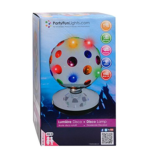 "Disco Projektor /""Moon flower/"" mit 18 LED/'s"