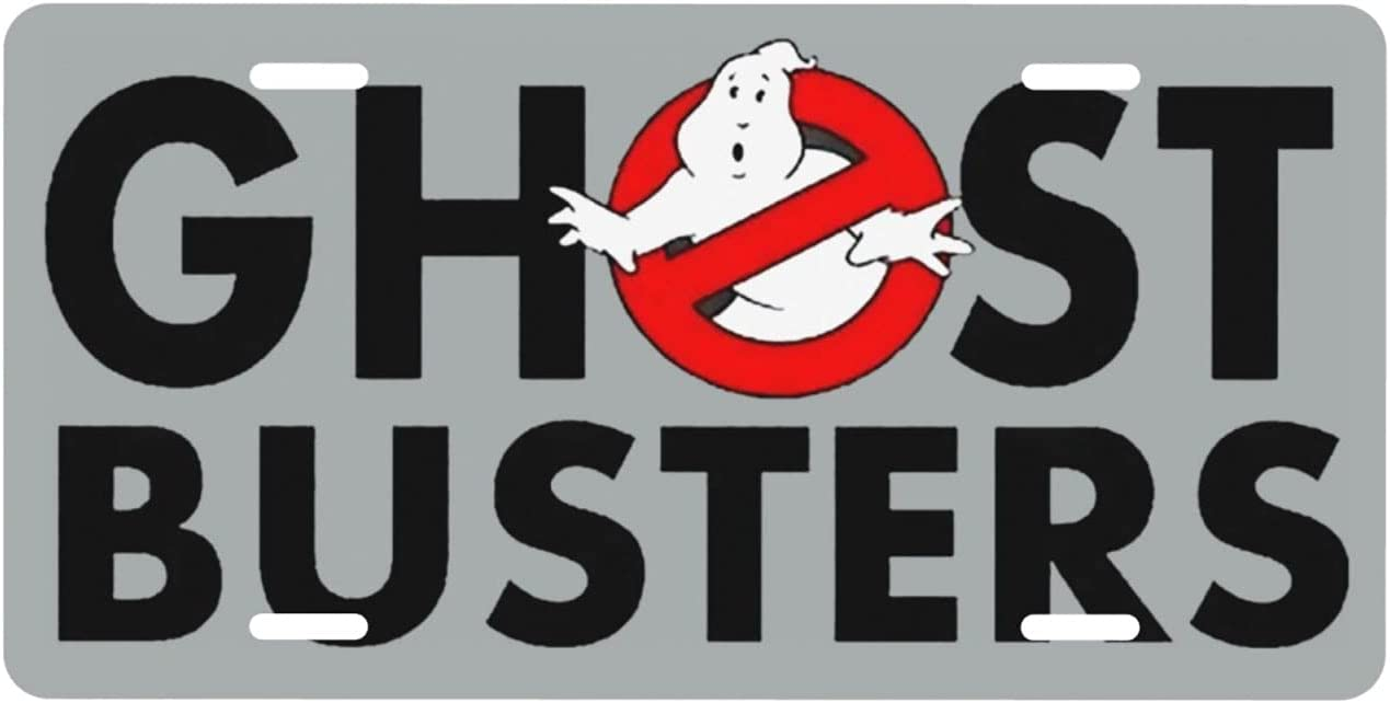 Backome License Plate Dedication Ghost Busters CarLicensePlateCoverMeta Max 71% OFF