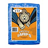 B-Air Grizzly Tarps - Large Multi-Purpose, Waterproof, Heavy...