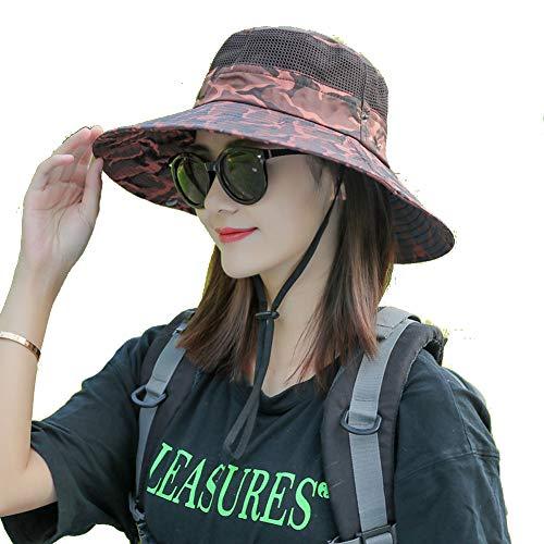 ASR Tarn Hut Basin Cap Unisex Fisherman's hat für Camping, Wandern, Golf, Joggen, Laufen,Angeln. Faltbarer Sonnenhut (B)