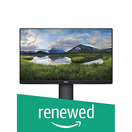 Dell P Series 27-Inch Screen Led-Lit Monitor (P2719H), Black (Renewed)