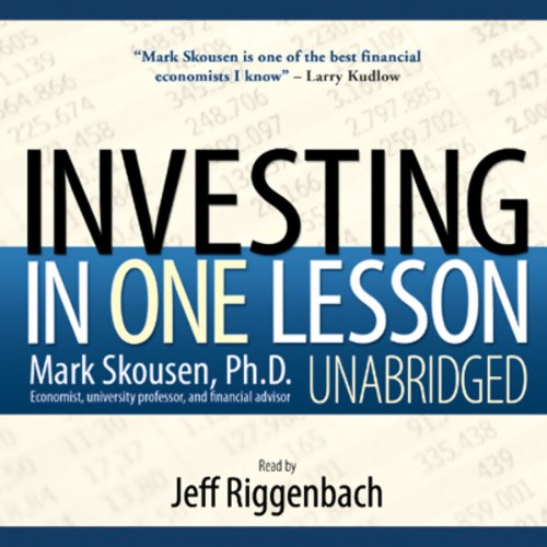 Investing in One Lesson  audiobook cover art
