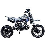 X-PRO 110cc Dirt Bike Pit Bike Kids Dirt Pitbike 110 Dirt Pit Bike,Blue