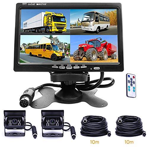 Car Backup Camera Waterproof Dual Reverse Camera...