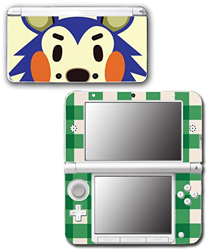 Animal Crossing Happy Home Designer Mabel Video Game Vinyl Decal Skin Sticker Cover for Original Nintendo 3DS XL System