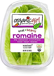 organicgirl Romaine Heart Leaves, 7 oz Clamshell