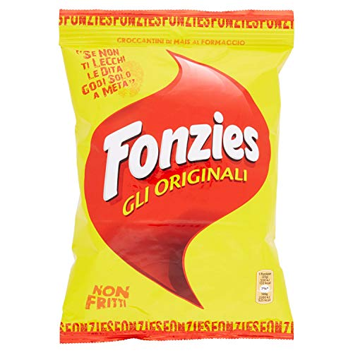 Fonzies - Croccantini di Mais al Formaggio, Cotti al Forno - 100 g