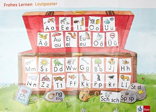 Frohes Lernen 1. Ausgabe Bayern: Lautposter Klasse 1 (Frohes Lernen. Ausgabe für Bayern ab 2014)