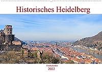 Historisches Heidelberg (Wandkalender 2022 DIN A2 quer): Der Kalender zeigt das historische Heidelberg von seinen eindrucksvollsten und seinen schoensten Seiten. (Monatskalender, 14 Seiten )