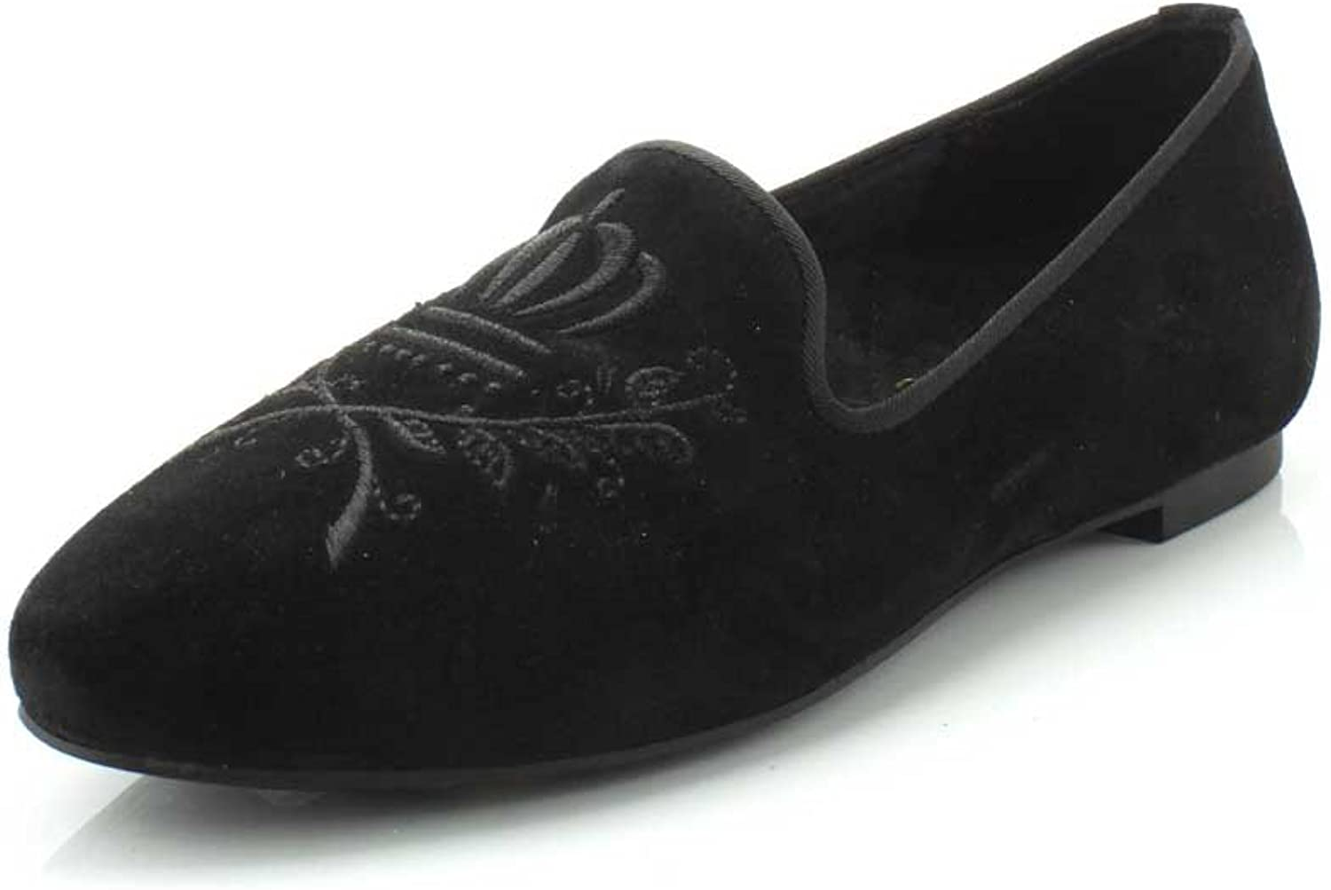 Vionic with Orthaheel Technology Women's Romi Black Black Suede
