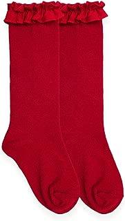 Little Girls Ruffle Knee High Socks 1 Pack