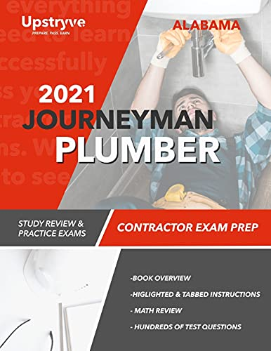 2021 Alabama Journeyman Plumber Exam Prep: Study Review & Practice Exams