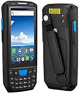 Android 8.0 PDA Rugged Handheld Terminal PDA Data Collector for Warehouse 1D 2D QR Barcode Scanner Support OTG 4G PDA Term...