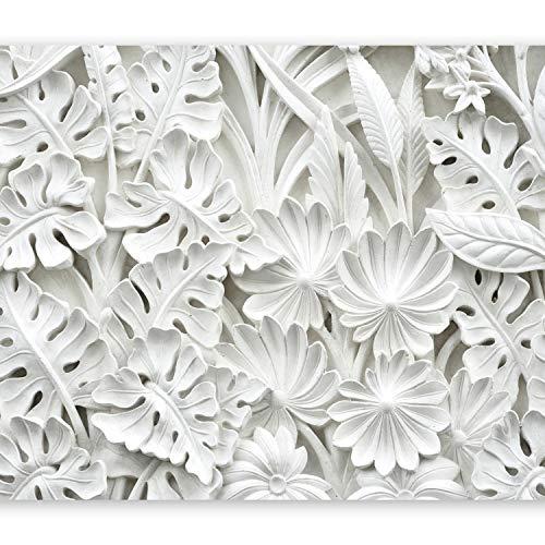 murando Fotomurales 400x280 cm XXL Papel pintado tejido no tejido Decoración de Pared decorativos Murales moderna Diseno Fotográfico blanco f-B-0038-a-a