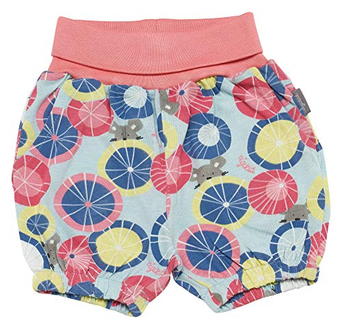 Sigikid Baby-Mädchen Bermuda, Shorts, Mehrfarbig (Starlight Blue 575), (Herstellergröße: 80)