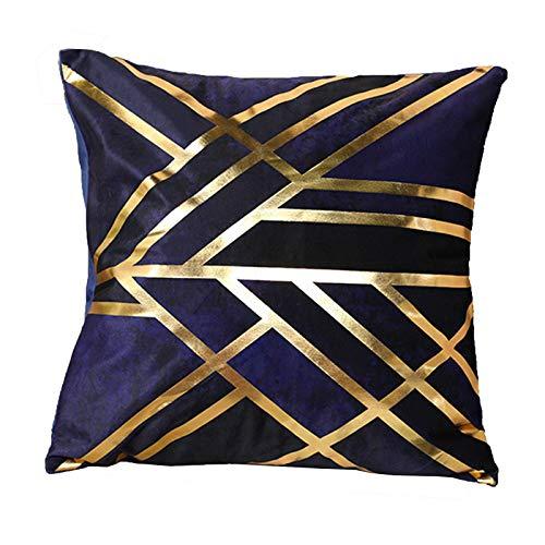 GuLL 45 x 45 cm Funda de cojín para sofá cama, estilo nórdico, suave funda de cojín para el hogar