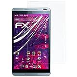atFolix Glasfolie kompatibel mit Huawei MediaPad M1 Panzerfolie, 9H Hybrid-Glass FX Schutzpanzer Folie