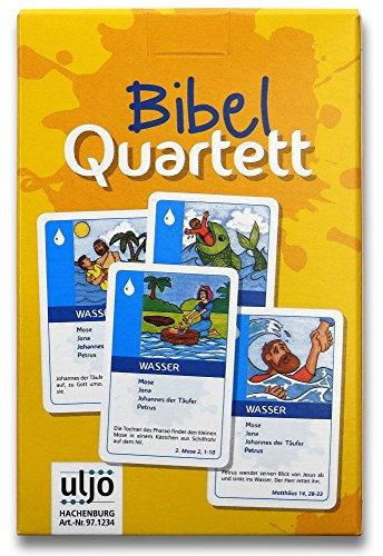 °°1234 Bibel-Quartett mit Bildern aus biblischen Geschichten