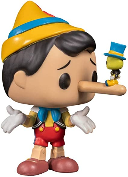 Pop Pinocchio Exclusivo Funko pinocho Exclusivo abbastanza : Amazon.com.mx:  Juguetes y Juegos