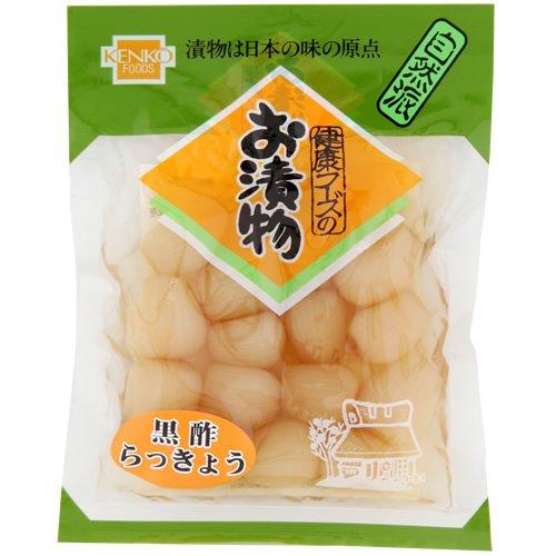 健康フーズ 黒酢らっきょう 90g×10袋