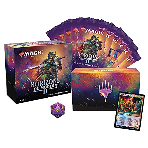 Magic The Gathering- Bundle Horizons du Modern 2, 10 boosters de Draft & Accesorios (Wizards of The Coast C97561010)