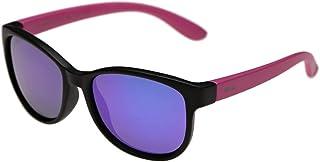 Invu Wayfarer Matt Black/Pink Girl's Sunglasses - INVU-K2511-B-42-19-122