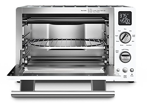 "KitchenAid KCO275WH Convection 1800W Digital Countertop Oven, 12"", White (Renewed)"