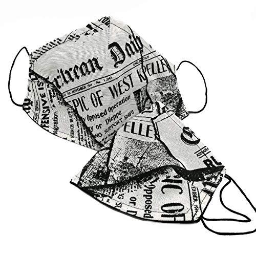 Mundschutz, News Paper, Zeitung, Stoff, Stoffmaske, Mund Nasen Schutz, Behelfsmaske, MNS, Maske, Gesichtsmaske, Mundschutz Maske, Stoffmasken, Mundschutzmasken