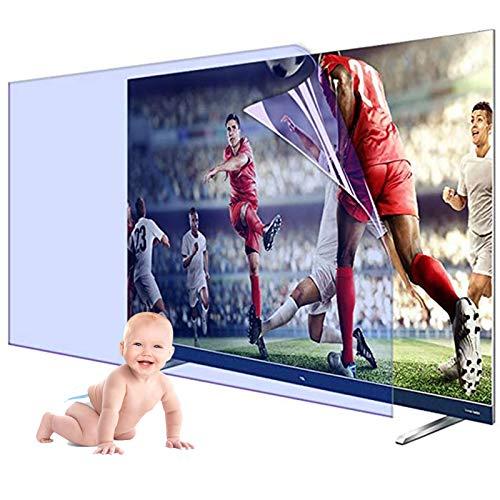 KELUNIS Blendschutz TV Displayschutzfolie, Blaulichtfilter Für TV-Bildschirm 32-65 Zoll, Matte Schutzfolie/Antireflexionsrate Bis Zu 90% Augenermüdung Lindern,32