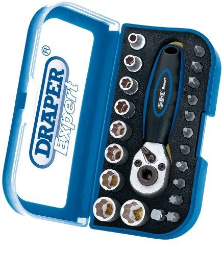Draper Expert 41451 22 pièces 1/4 carré Double Driver Set