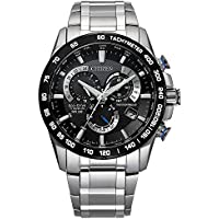 Deals on Citizen Men's PCAT Quartz Sport Watch with Titanium Strap