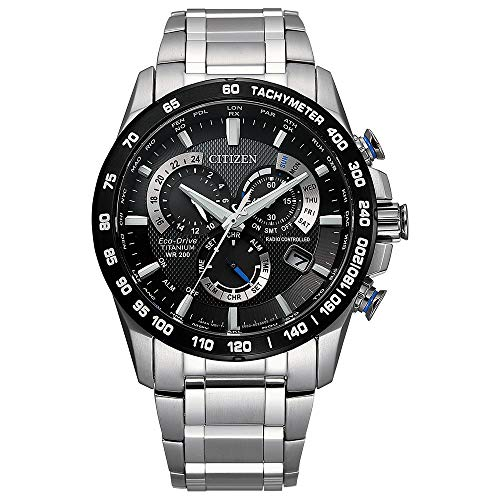 Citizen Men's PCAT Eco-Drive Super Titanium Chronograph Watch - $297.99