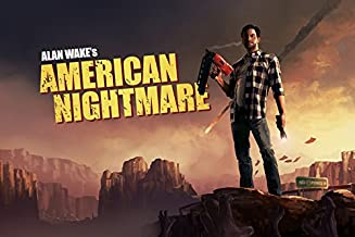 Tomorrow sunny G247 Alan Wake's American Nightmare Game Poster Art Wall Pictures for Living Room in Canvas fabric cloth Print