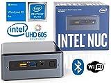 Intel NUC NUC7PJYH Mini PC, Intel Pentium Silver J5005 Upto 2.8GHz, 16GB RAM, 256GB SSD, HDMI, Card Reader, Wi-Fi, Bluetooth, Windows 10 Pro