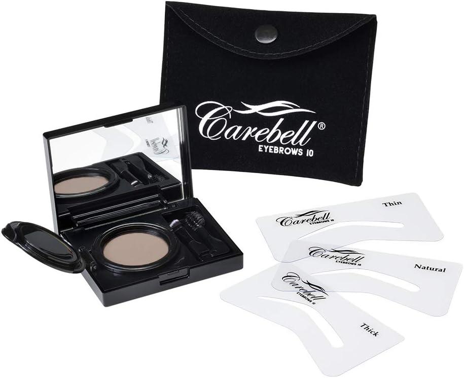 Maquillaje para Cejas Carebell Eyebrows 10 (C-03 DARK BROWN) · Rubio oscuro, castaño claro y castaño medio.