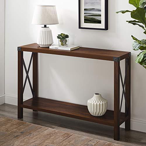 Walker Edison Sedalia Modern Farmhouse Metal X Entry Table Only $100.46 (Retail $309.00)