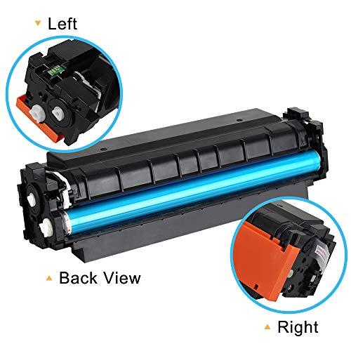 Cool Toner Compatible Toner Cartridge Replacement for HP 410A CF410A Black Toner for HP Color Laserjet Pro MFP M477fnw M477fdw M477fdn M477 Pro M452dn M452nw M452dw M452 M377DW Printer Toner-1 Pack Photo #4