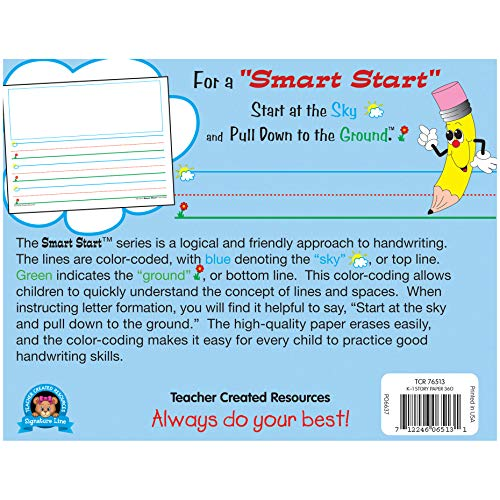 Teacher Created Resources Smart Start K-1 Story Paper: 360 Sheets (76513),White Photo #3