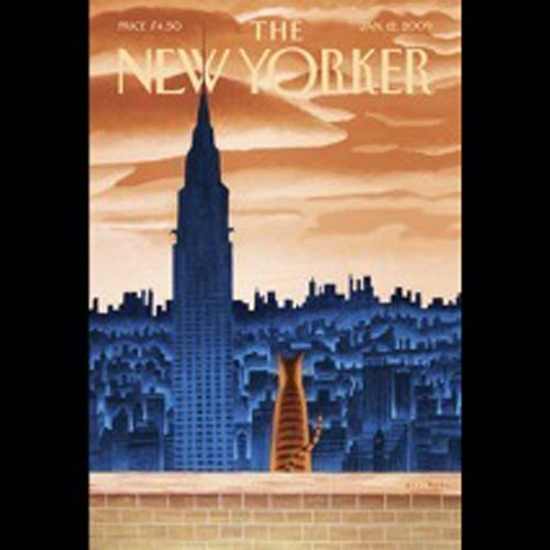 The New Yorker, January 12th, 2009 (Peter Hessler, Jeffrey Toobin, Bruce McCall) audiobook cover art
