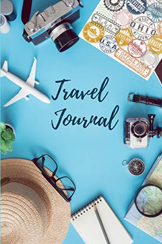 Travel Journal: 6 x9  Lined Blank Notebook, Journal For Writing Notes In The Life Journey (Life Is Good)