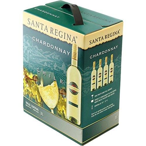 サンタ・レジーナシャルドネ箱入りワイン(バッグインボックス)[白ワイン辛口チリ3000ml]