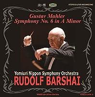 Mahler Symphony No.6. (Yomiuri Nippon Symphony Orchestra/ Rudolf Barshai. Rec 'Live' 11/25/89 by VARIOUS ARTISTS