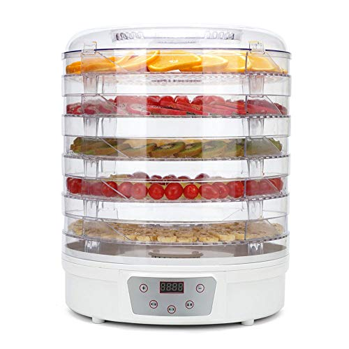 Find Bargain Qi Peng Food Dryer - Food Grade ABS, AS, 5 Layers Large Capacity, Transparent Shelf, Un...