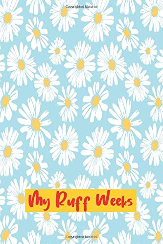 My Ruff Weeks: Floral Cover | period tracker | tips and tricks to help with PMS symptoms | 4 year monthly calendar log book