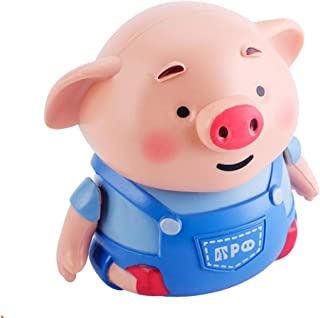 Lumumi Children Toy Gift, Christmas Toy Follow Any Drawn Line Magic Pen Inductive Cute Pig Model